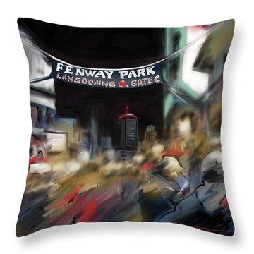 Lansdowne Street Throw Pillow