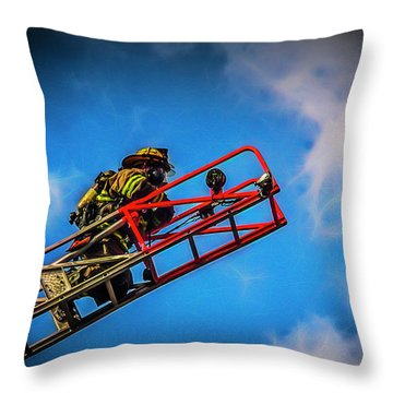 Last Fire Throw Pillow