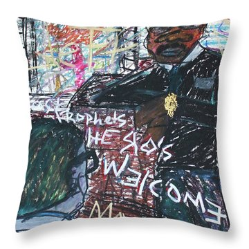 Last Prophets A Hero's Welcome Throw Pillow