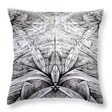 Launch Pad Throw Pillow
