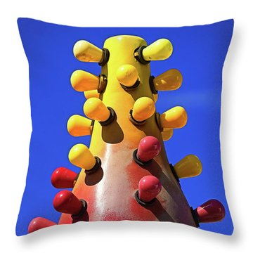 Throw Pillow featuring the photograph Lava Lamp by Skip Hunt