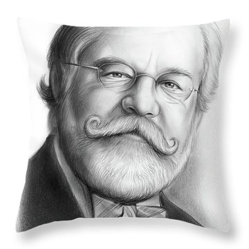 Lawyer Ty Cobb Throw Pillow