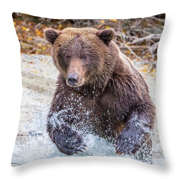 Lazy C 4 Throw Pillow