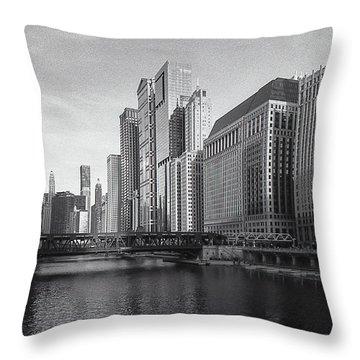 Lazy River Throw Pillow
