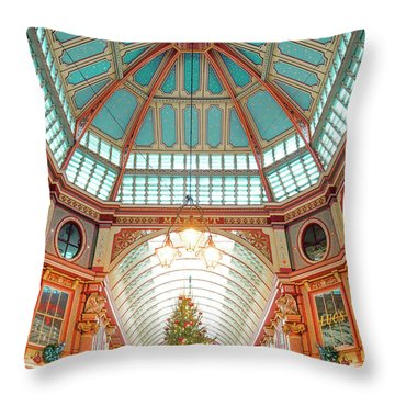 Leadenhall Market Throw Pillow