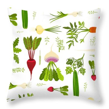 Beet Throw Pillows