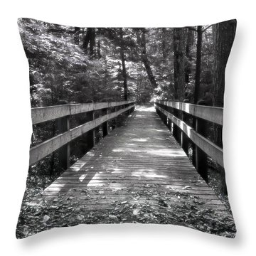 Leelanau Trail Throw Pillow
