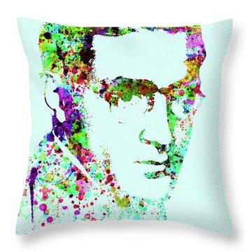 Legendary Benny Goodman Watercolor Throw Pillow