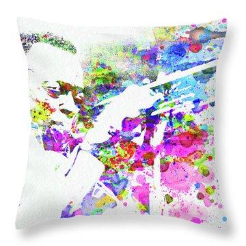 John Coltrane Throw Pillows