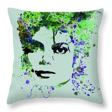 Legendary Michael Watercolor II Throw Pillow