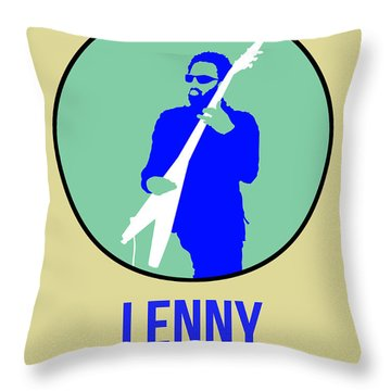 Lenny Kravitz II Throw Pillow