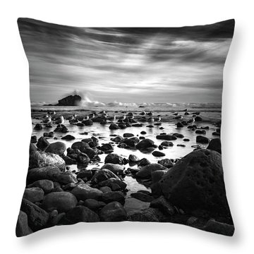 Leo Carrillo Light Throw Pillow
