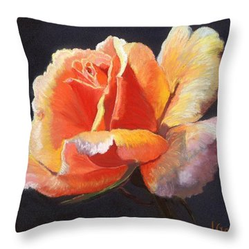 Lesla's Rose Throw Pillow