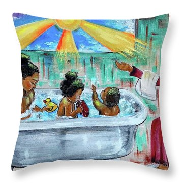 Lessons From Mommy Throw Pillow