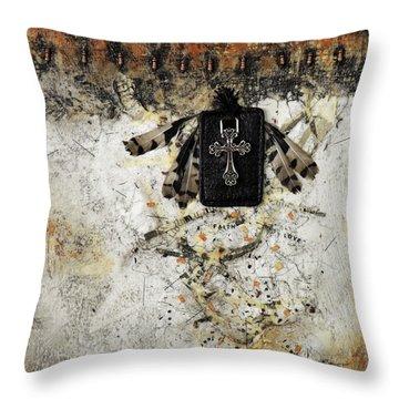 Let Fear Fall  Throw Pillow