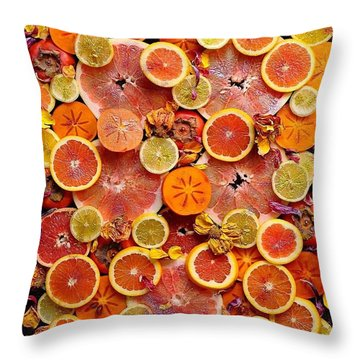 Let The Winter Sun Shine In Throw Pillow