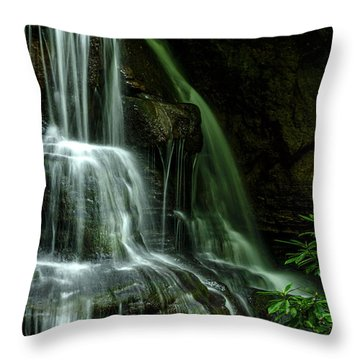 Let Your Living Water Flow Throw Pillow