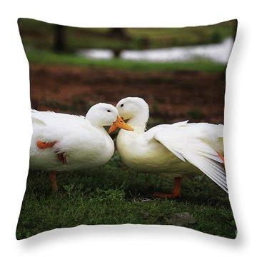 Let's Tango Throw Pillow