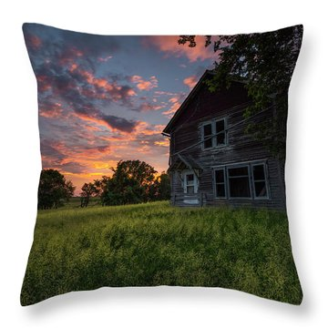 Throw Pillow featuring the photograph Letters From Home by Aaron J Groen