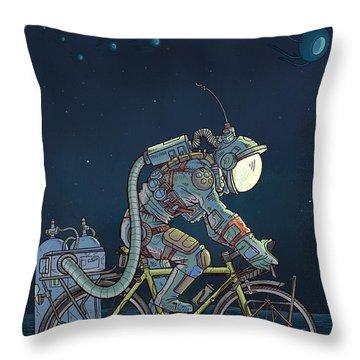 Digitalart Throw Pillows