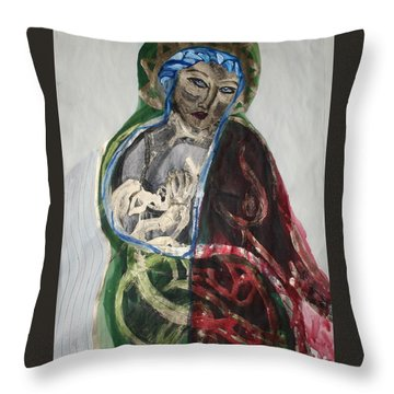Life Gives And Life Takes Throw Pillow