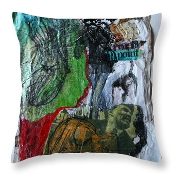 Life Starts As A Joke Then You Discover You Are The Joke Throw Pillow