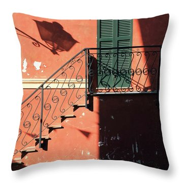 Throw Pillow featuring the photograph Light In Shadow by Nicole Young
