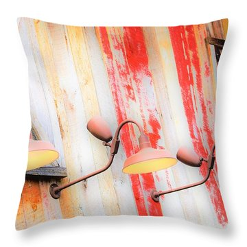 Light My Side Throw Pillow