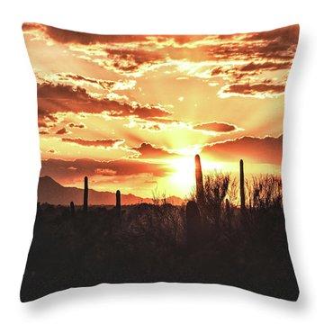Light Of Arizona Throw Pillow