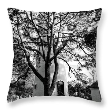 Lighthouse Labor Throw Pillow