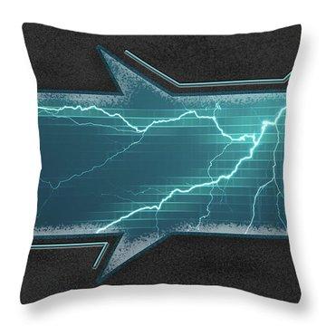 Lightning-centric Throw Pillow