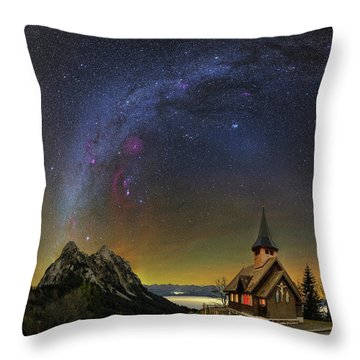 Like A Prayer Throw Pillow