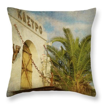 Throw Pillow featuring the photograph Like In Medieval Times by Milena Ilieva