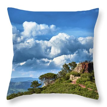Like Touching The Sky Throw Pillow