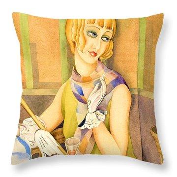 Lili Elbe - Digital Remastered Edition Throw Pillow