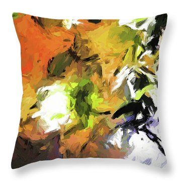 Lily For The Horses Throw Pillow