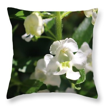 Lily Of The Valley, Cape May Throw Pillow