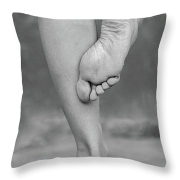 Lines #002054 Throw Pillow