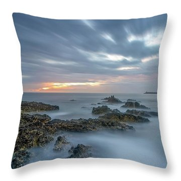 Throw Pillow featuring the photograph Lines - Matosinhos 2 by Bruno Rosa