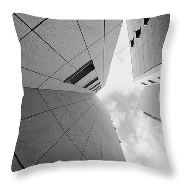 Throw Pillow featuring the photograph Lines - Matosinhos by Bruno Rosa