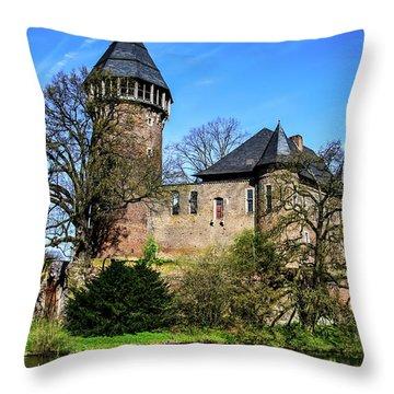 Linn Castle Throw Pillow
