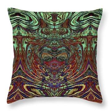 Liquid Cloth 2 Throw Pillow