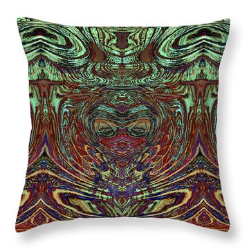 Liquid Cloth 2 Throw Pillow