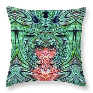 Liquid Cloth Throw Pillow