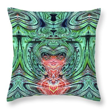 Liquid Cloth Throw Pillow