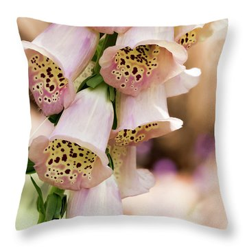 Little Bells Throw Pillow