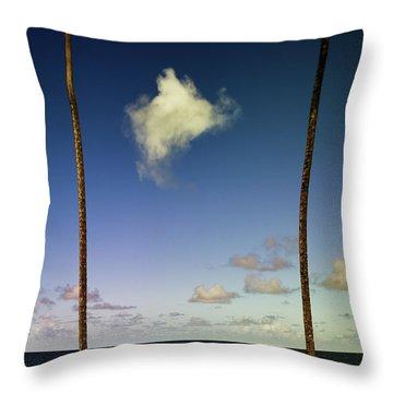 Little Cloud Throw Pillow
