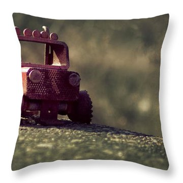 Little Engine That Could Throw Pillow
