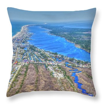 Little Lagoon 7489 Throw Pillow