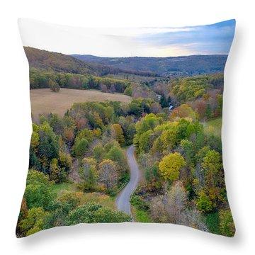 Little Meadows  Throw Pillow